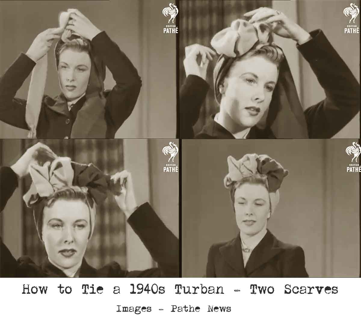 1940s-Fashion---How-to-make-a-Glamorous-Turban---Method-3