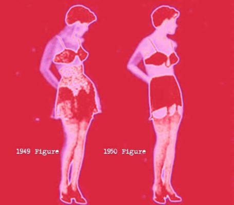 1940s-Fashion---Silhouette of 1949
