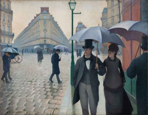 Paris-Street;-Rainy-Weather,-by-Gustave-Caillebotte-(1877)