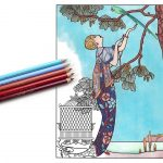 The Masters of Fashion Illustration – adult coloring book