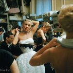 Backstage Photos of 1954 Paris Fall Collection