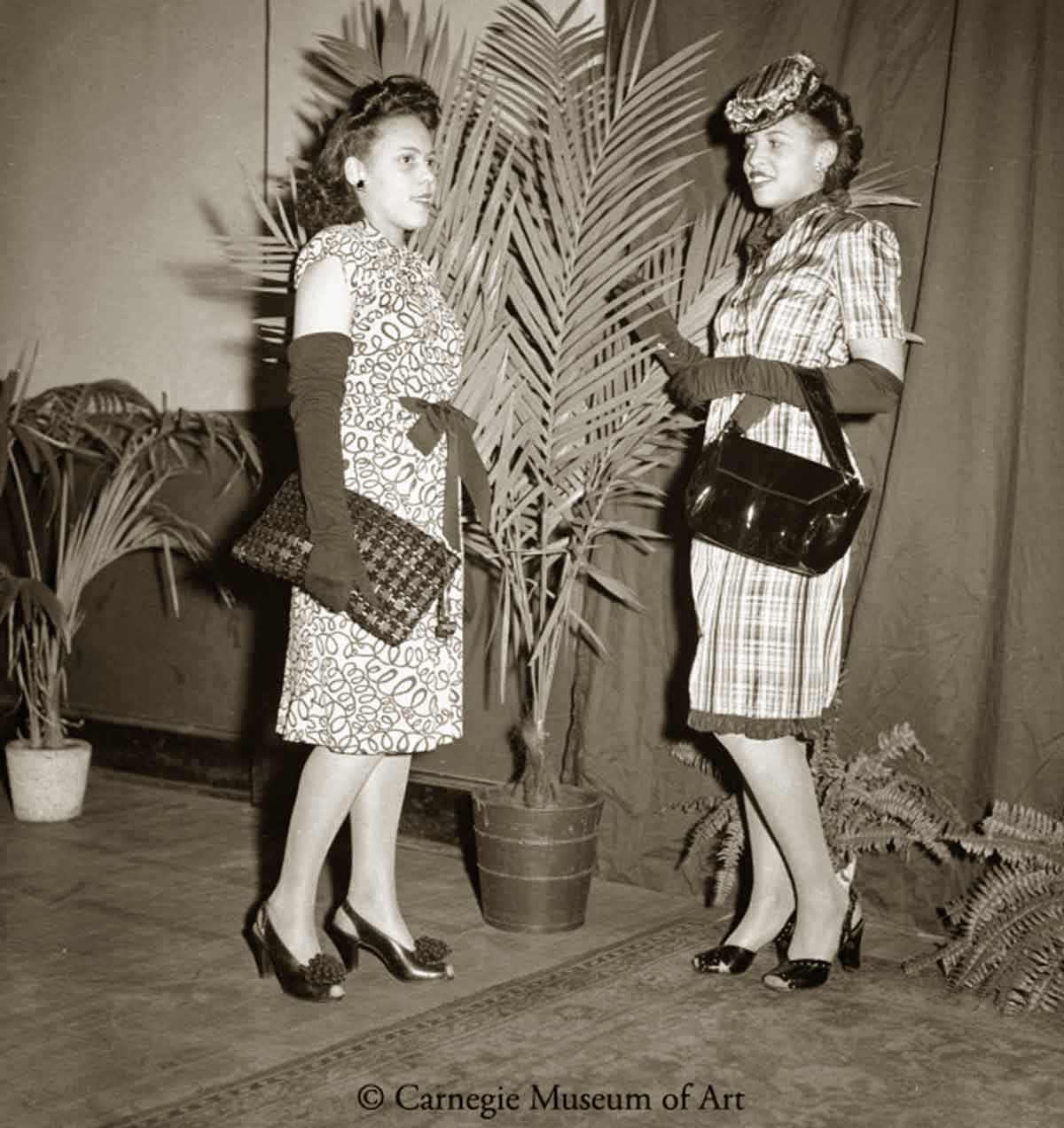 Elaine Davis, and Ida-Mae Mauney-Kay Boys Club-1945