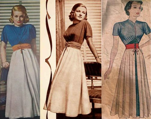 Elizabeth-Hawes-1938---The-Conquest-of-Mexico---Chewing-Gum--Day-Dress-and-Simplicity-pattern-1938