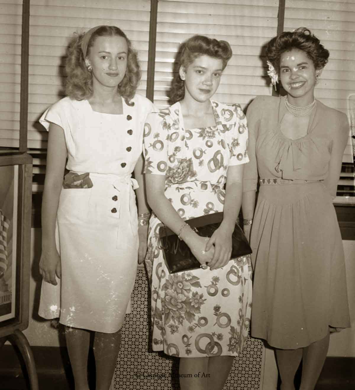 Jocelyn Tate,Zora Christine Nelson,-and Toni Carter-Smith-1945