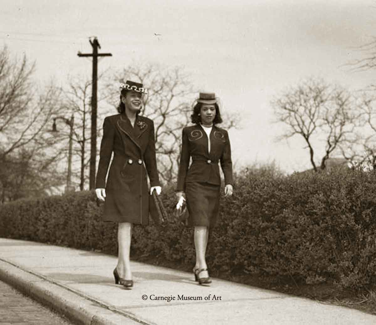1940s Black Fashion -1945 - Teenie Harris