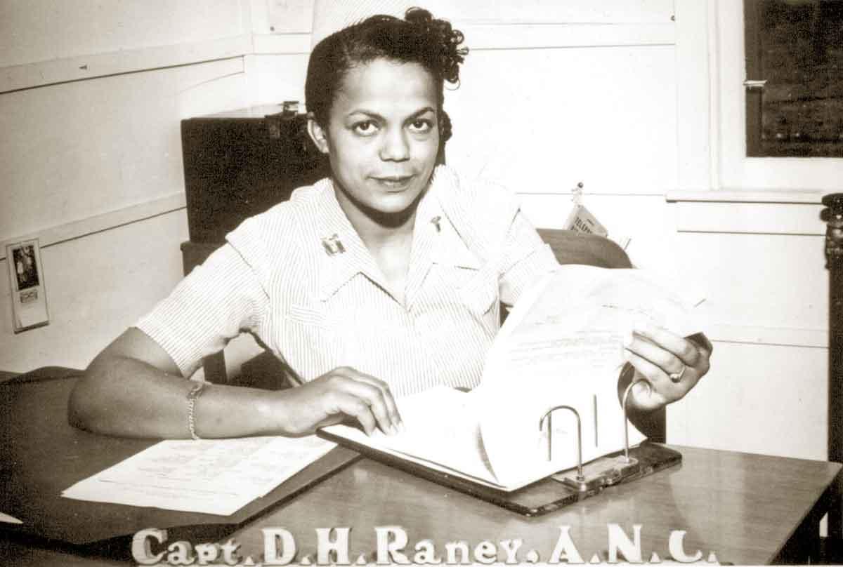 Capt. Della H. Raney, Army Nurse Corps