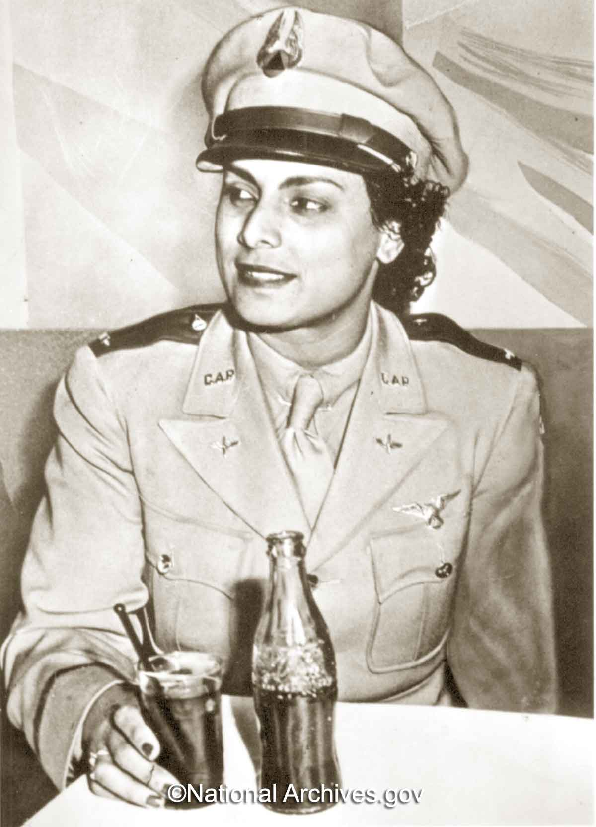 Willa-Beatrice-Brown---Lieutenant---US-Civil-Air-Patrol---national-archives