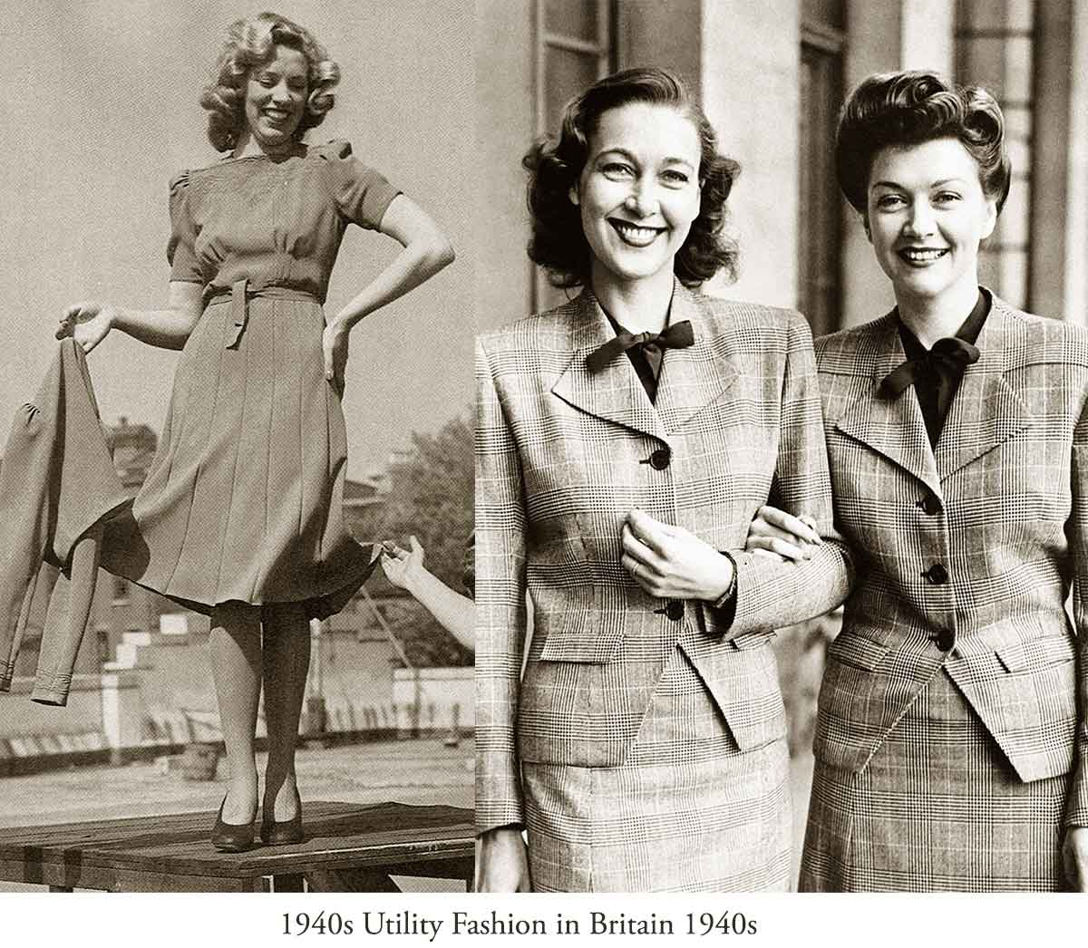 History of Womens Fashion - 1940 to 1949 | Glamourdaze