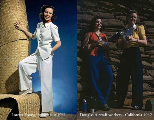 1940s-US-fashion-slack-suits-and-trousers