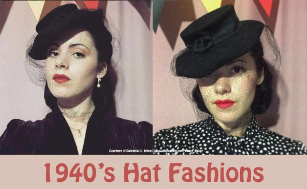 1940s hats for women