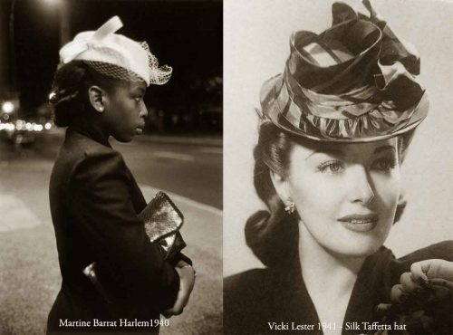 1940s hat style