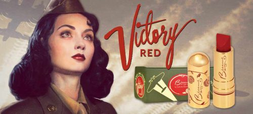 Classic Color 1941 Victory Red Lipstick - Besame Cosmetics