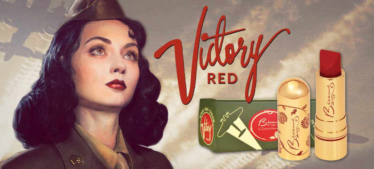 Classic Color 1941 Victory Red Lipstick   Glamourdaze