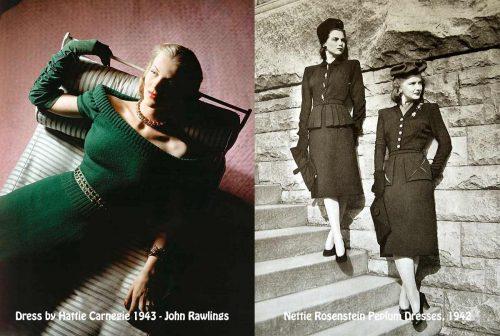 hattie-carnegie-and-nettie-rosenstein-dresses-1942