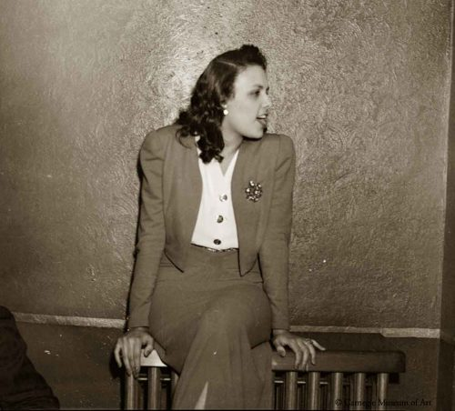1940's ladies suit - Lena Horne in 1941