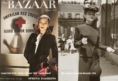 louise-dahl-wolfe-harpers-bazaar-1943-Lauren Bacall
