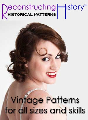 Reconstructing History - vintage sewing patterns