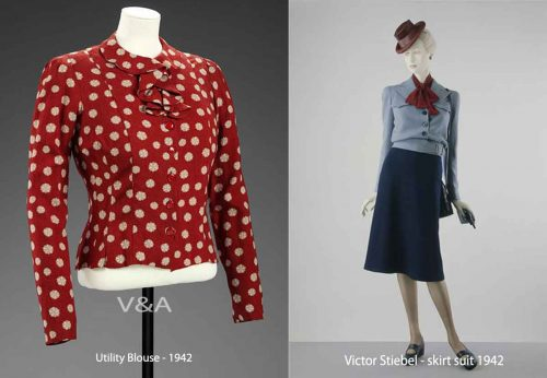 Blouse-and-utility-skirt-suit-1942-incorporated-society-of-london-fashion-designers