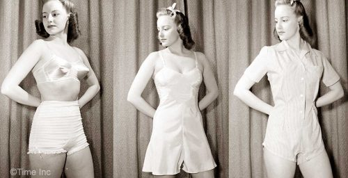 1940s underwear for wearing under pants