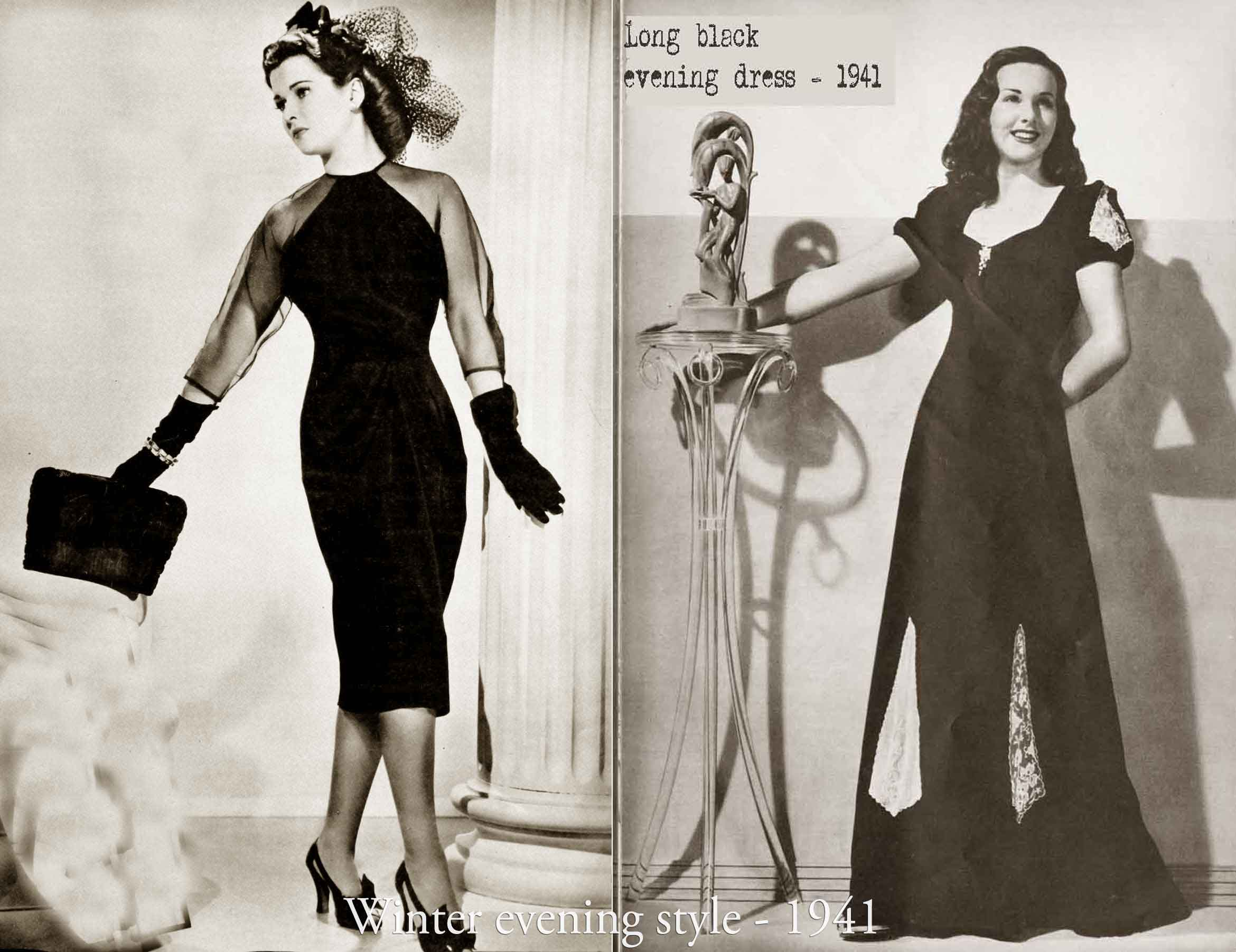 History of 1940s Fashion - 1940 to 1949 | Glamour Daze