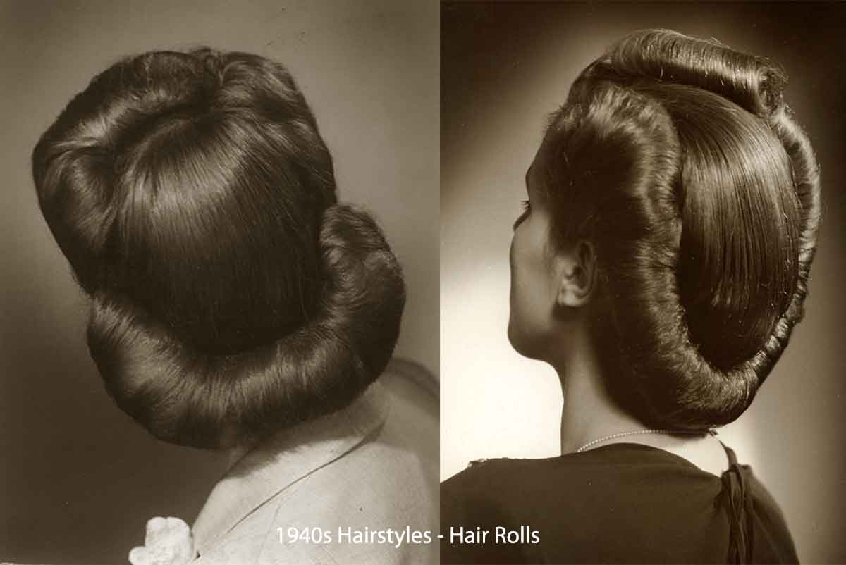 Hairstyles For Short Hair 1940s: History Of Womens Fashion - 1940 To 1949