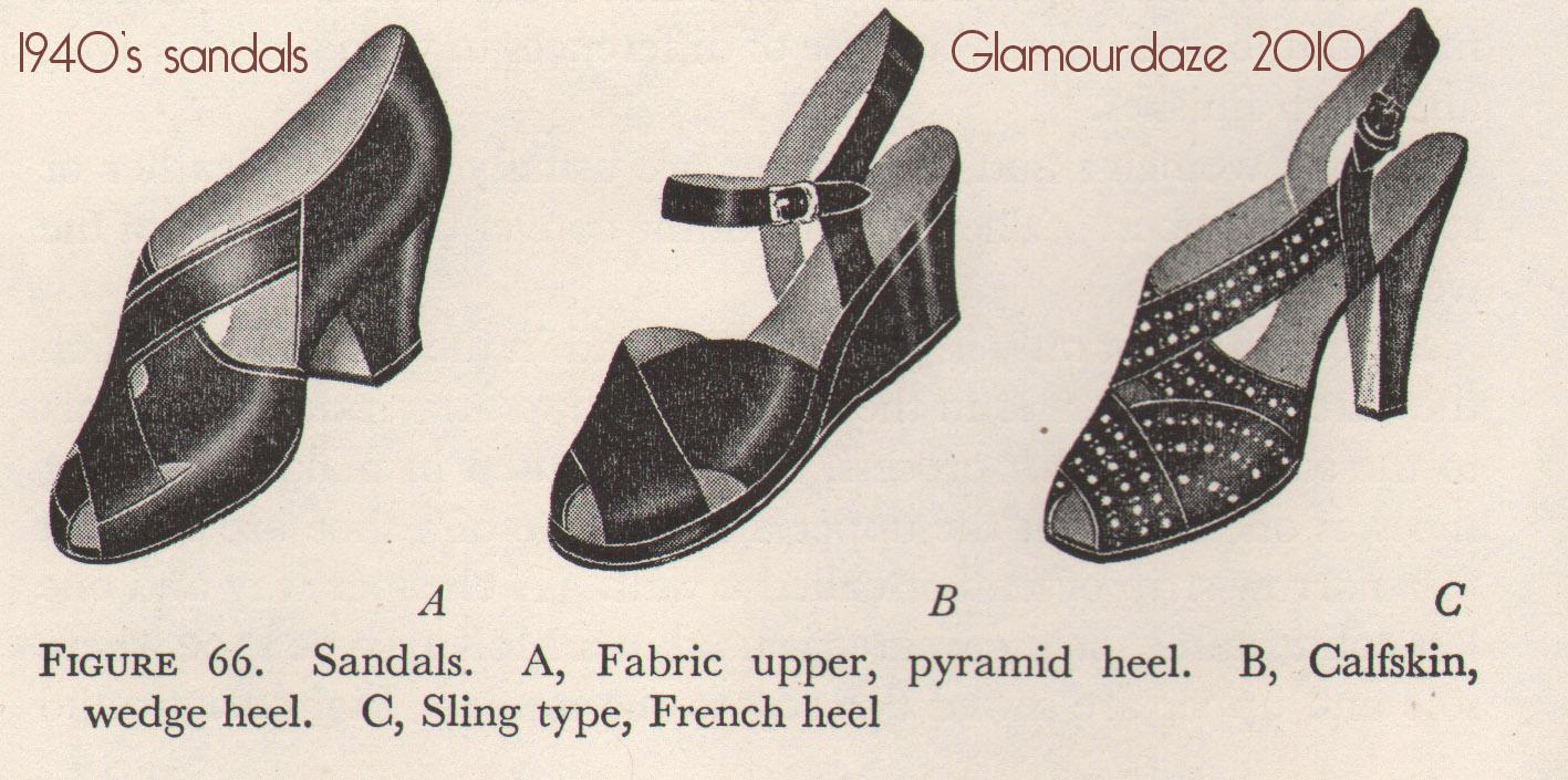 400973dba8d History of Womens Fashion - 1940 to 1949