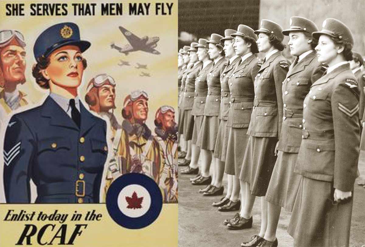 Women In Uniform In World War Two Glamour Daze