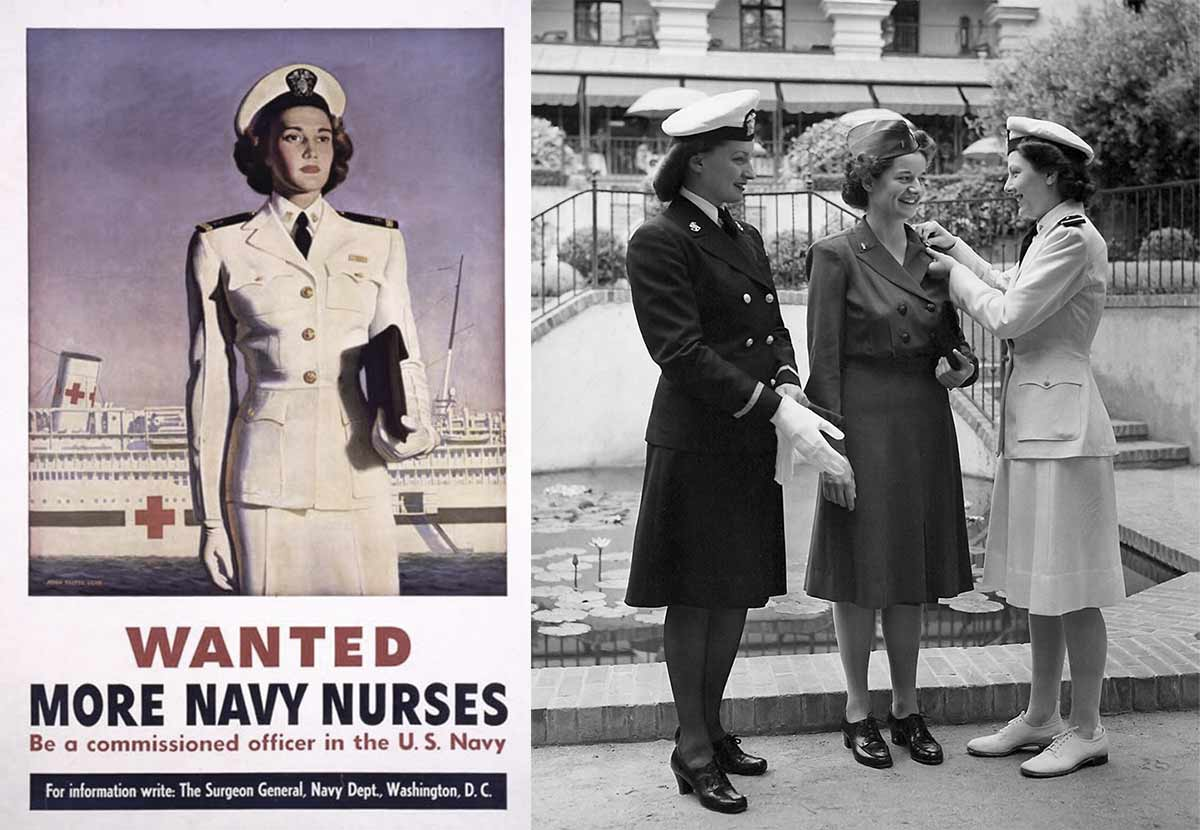 Women In Uniform In World War Two Glamour Daze