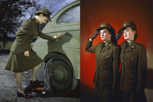 1.The Canadian Women's Army Corps (CWAC)