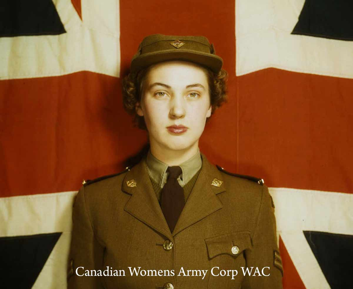 Canadian Womens Army Corp WAC