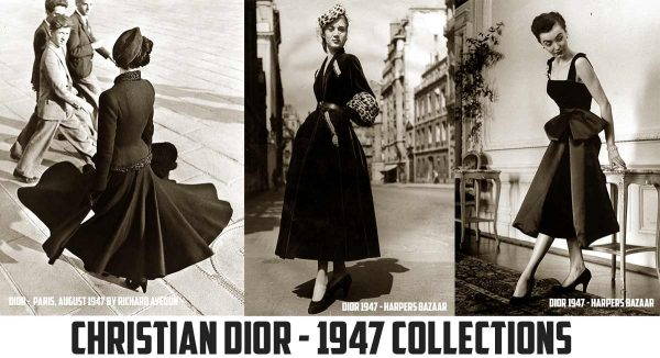 Christian Dior - New Look Dresses 1947