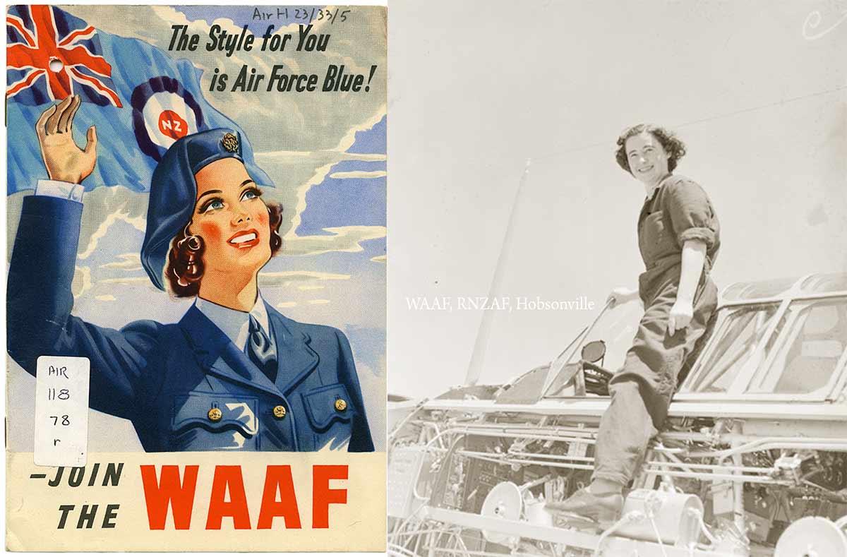 dceea3410e1 New Zealand Women in Uniform. 1.Women s Auxiliary Air Force ...