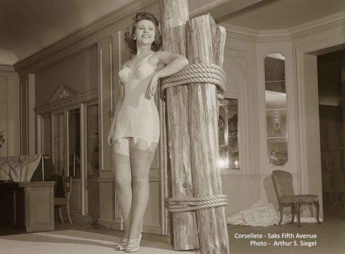 1940s lingerie - corsellette