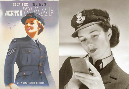 The Women's Auxiliary Air Force (WAAF).