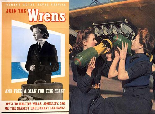 The Women's Royal Naval Service (WRNS or WRENS).
