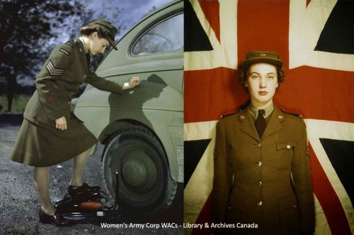 Women's Army Corp WACs - Library & Archives Canada