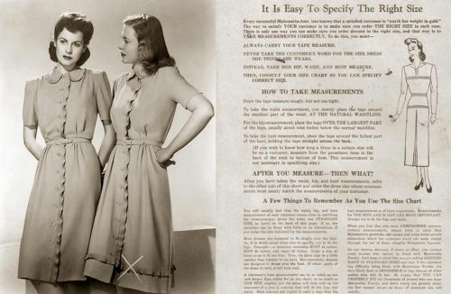 womens-dress-sizes-in-the-1940s