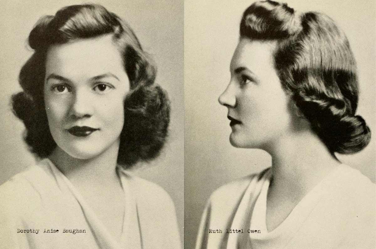 1940s College Girl Hairstyles | Glamourdaze