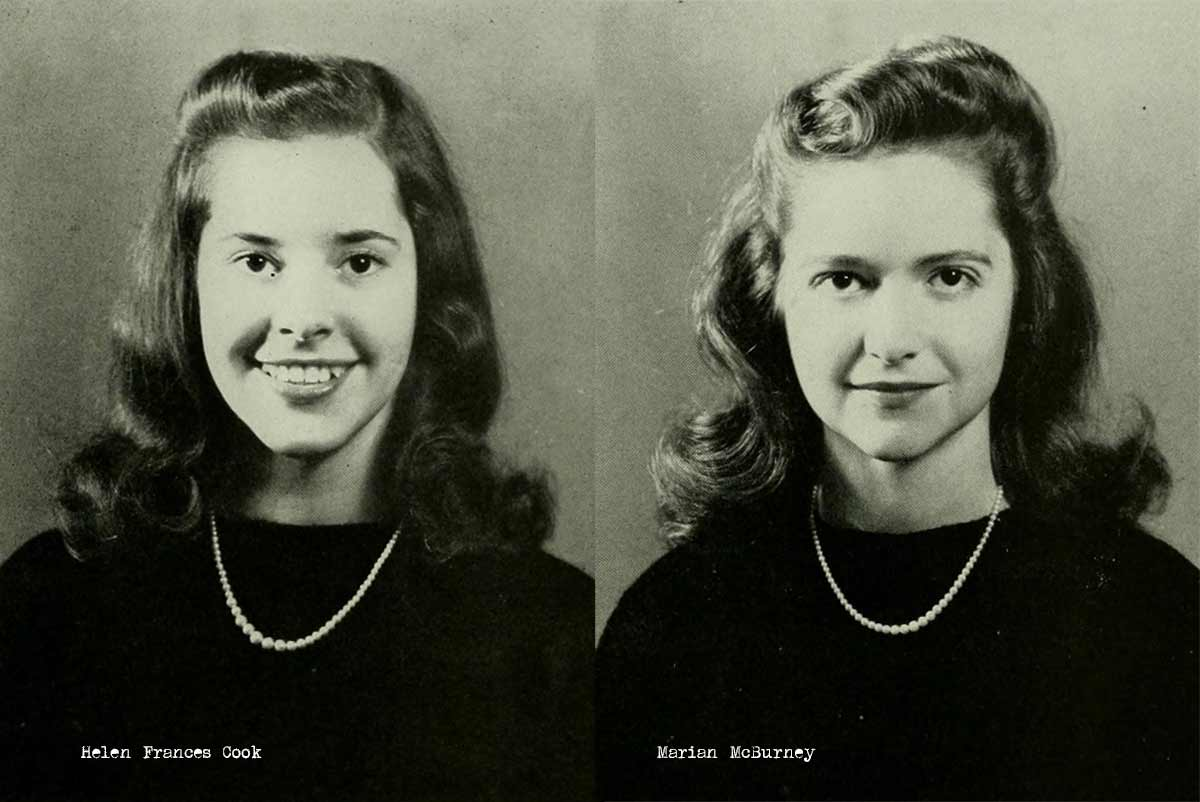 1940s College Girl Hairstyles Glamour Daze