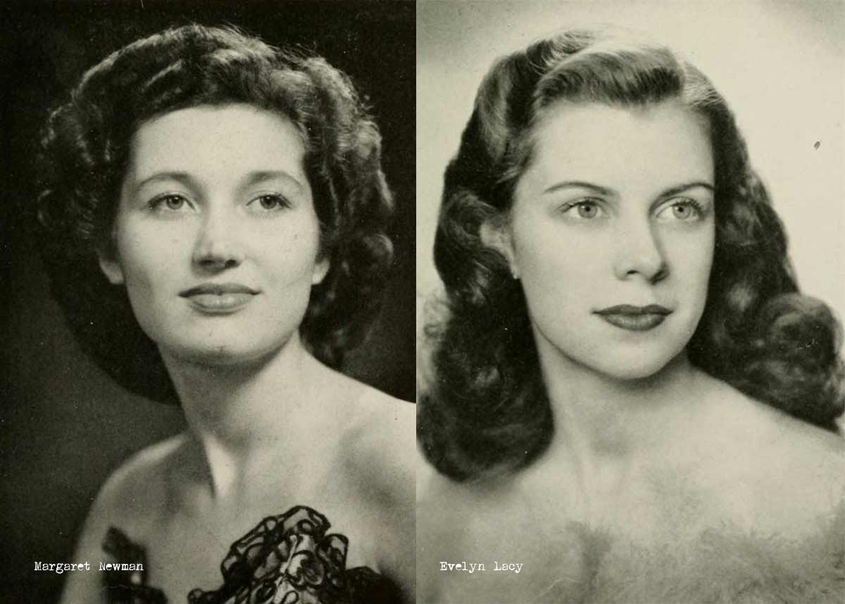 Hair Style 1940: 1940s College Girl Hairstyles