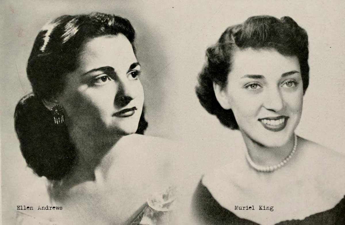 1940s College Girl Hairstyles | Glamour Daze