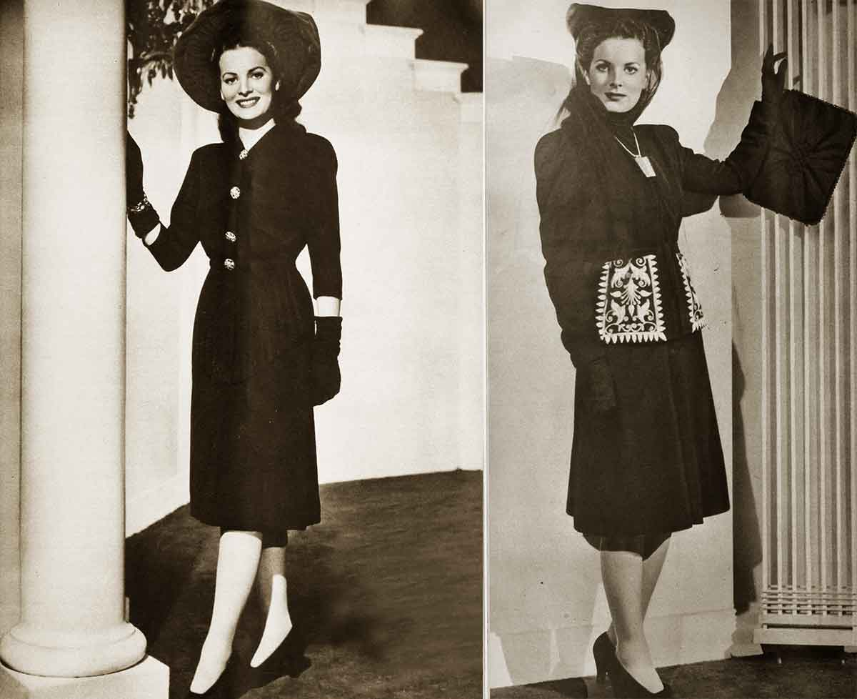 1940s-Fashion---Maureen-O-Hara-Winter-Style-1941