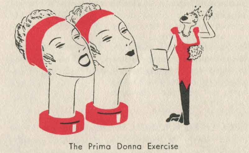 1930s-Beauty-Booklet---Three-One-Minute-Exercises---Prima-Donna