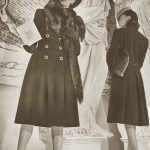 1940 Vogue Fashion – Winter Coats and Dresses