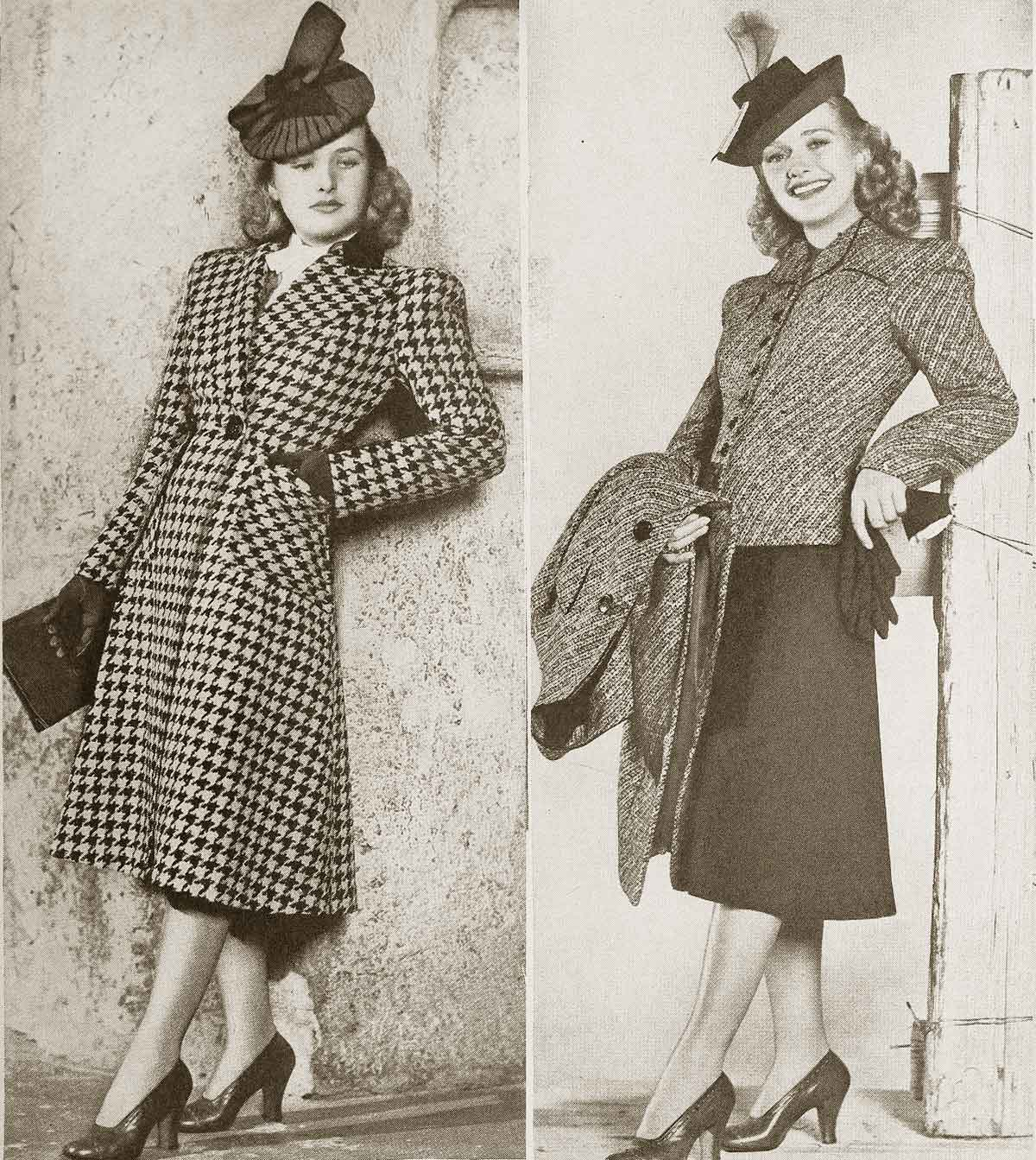 College-Fashions-for-Winter-1940 - Priscilla Lane