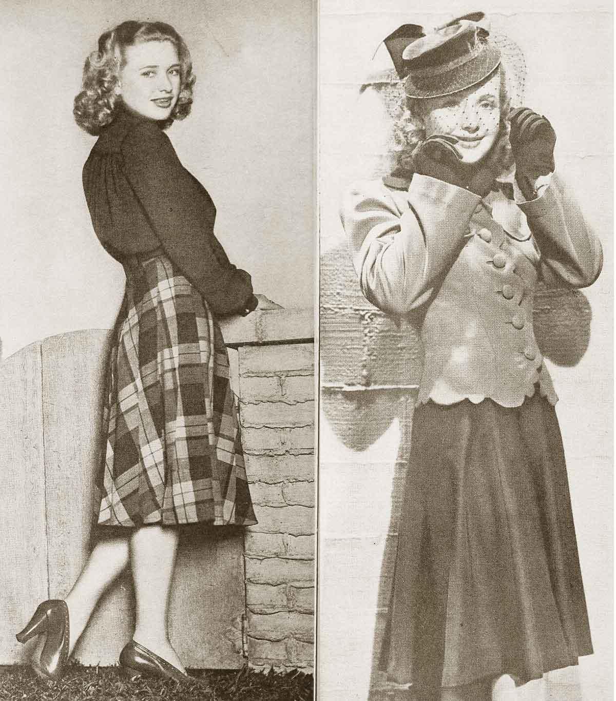 College-Fashions-for-Winter-1940 - Priscilla Lane