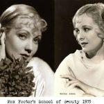 Max Factors School of Beauty 1935