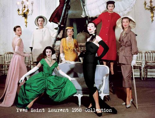 Yves-Saint-Laurent-1958-Collection