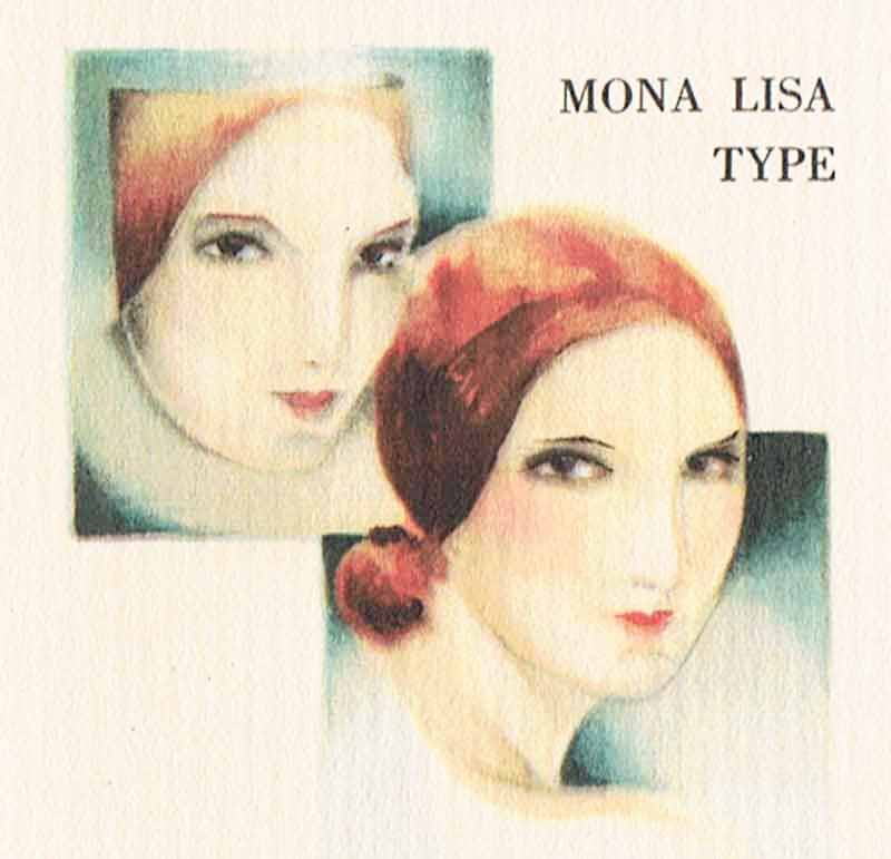 1920s-Armand-Beauty-Booklet - Mona Lisa type