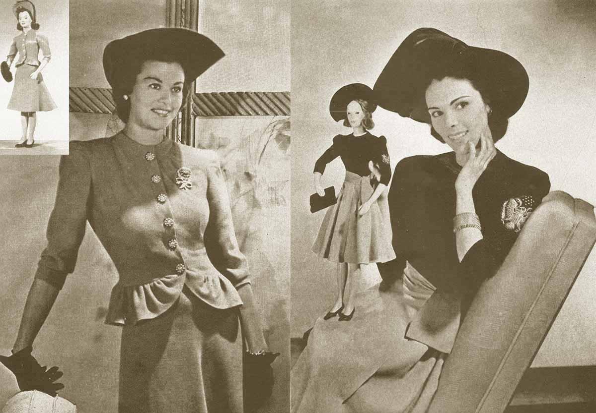 40s Magazine Vintage 1940s Fashion Magazine Vogue